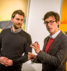 British Pilgrime Trust speak at the 12 Star Gallery opening. Image: Jamei Smith