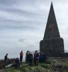 Public walk on St MIchaelmas Day 29.9.17 Knills Monument